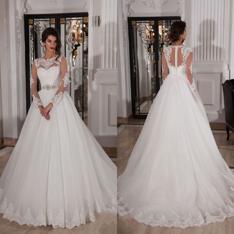vestidos de novia con encaje tumblr – vestidos blancos
