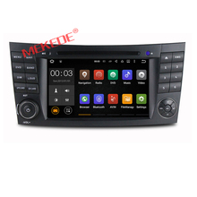 Quad Core Android 7.1 Car dvd player radio audio for Mercedes/benz E-Class W211 E200 E220 E300 E350 with car GPS navigation 4G