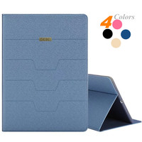 4 Colors New Fashion Luxury Flip Leather Case Wallet Stand Cover For IPad Air 2 Slim