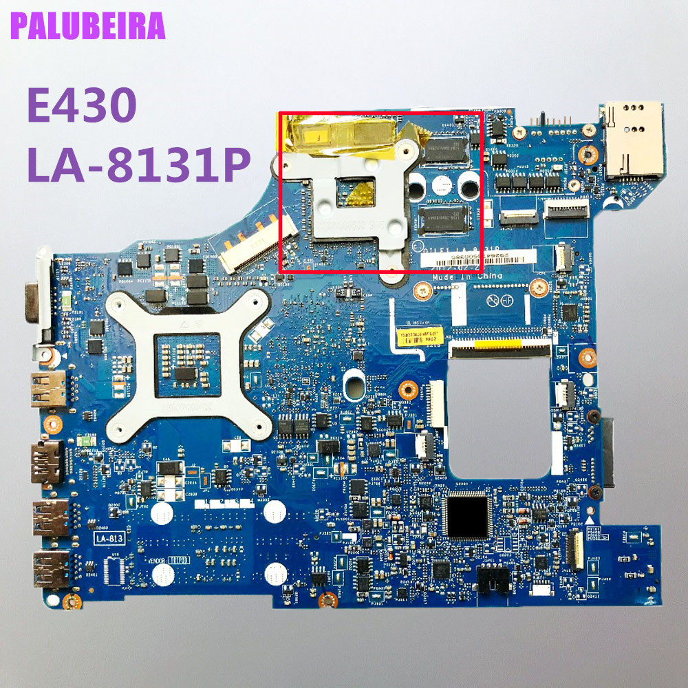Материнская плата для Lenovo E430 LA-8131P 04Y1212 S989 HM77 100% Test OK