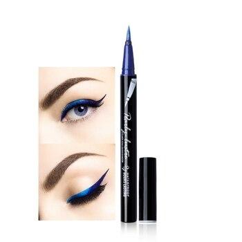 8 Colors Sexy Pearl Shiny Color Eyeliner Maquiagem Liquid Eye Makeup Liner Tattoo Eyeliner Cosmetic L9 Eyeliner