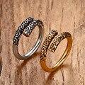 Anillo de hierro de viaje al Oeste El Rey Mono gran anillo ANILLO de la joyería