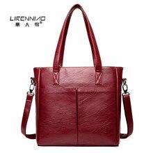 Casual Tote sac femme Lirenniao Mode handtasche 2017 luxus handtasche frauen tasche designer-handtasche hohe qualität tasche damen handtasche