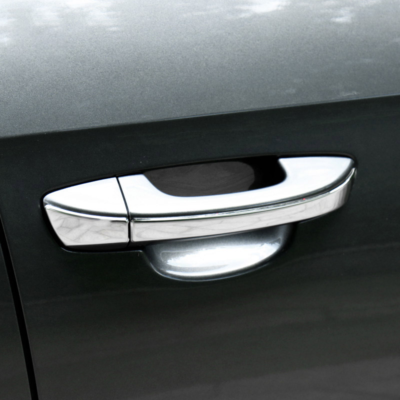 Car styling Stainless steel door handle cover trim strip Fit For VW Golf 6 MK6 2010-2012 for Passat B7 2013 accessories 8PCS набор автомобильных экранов trokot для vw passat b7 2010 2014 на передние двери tr0408 01