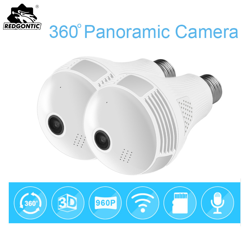 960P Wireless Panoramic Ip 3D Vr Camera Wifi Bulb Light Camera Fisheye Camera 360 CCTV Camera Home Security Surveillance Cam henri grégoire histoire des confesseurs des empereurs des rois et d autres princes