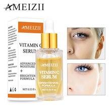 Ameizii Vitamin C Serum Brighten Skin VC Essence Pure Hyaluronic Acid Fade Dark Spots Whitening Cream Care Beauty Essential