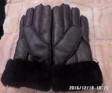 HHZWFUR Fashion warm women fur glove freeshipping winter