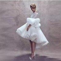 9a990f2055c57 Lebanon Glamorous Lace Evening Dress Robe De Soiree Mid Calf Length Formal  Dresses Long Sleeves Evening