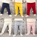 2016 Winter Baby Boys Girls Pants Kids Clothing Cotton Baby Long Trousers Thicken Pants Baby Boys Girls Clothing