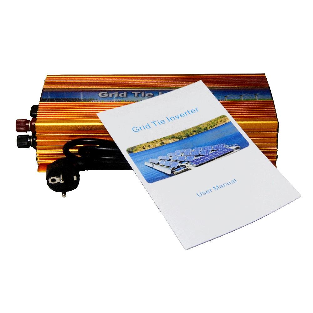 MAYLAR@ 10.5-30VDC 1000W Solar Grid Tie Inverter with MPPT PV on Grid Inverter, Output 180-260V.50hz/60hz