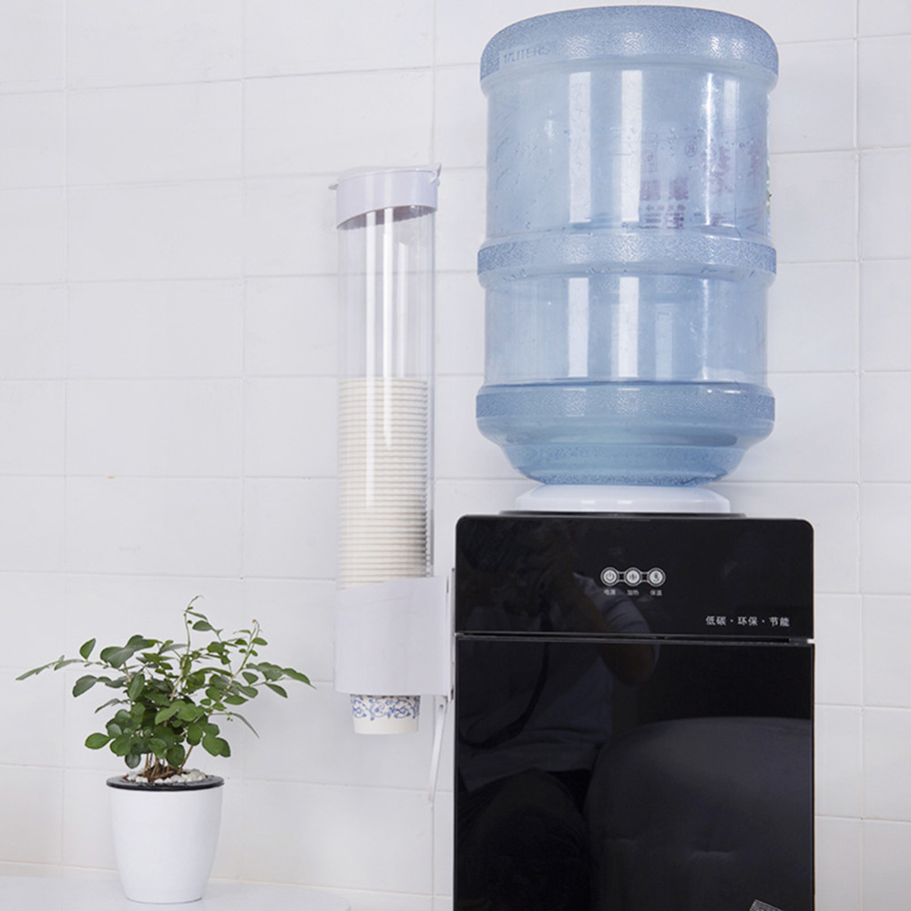 50pcs Water Dispenser Paper Holder Water Dispenser Cup Holder Disposable Paper Cup Holder Automatic Cup Drop For 5-7.5cm Cup(China)