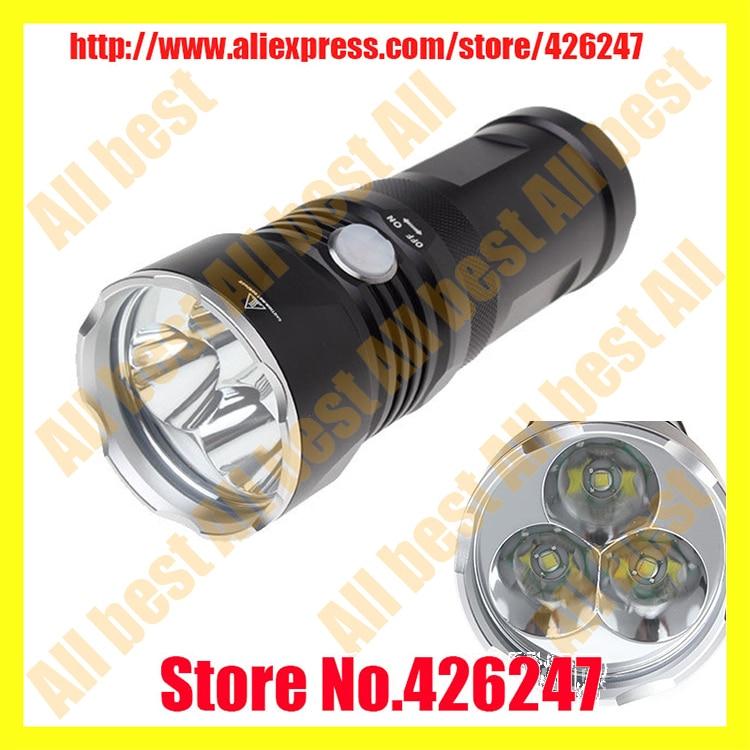 New 2014 SolarStorm T3 3 x Cree XM-L U2 LED 2700 Lumens 4-Mode Flashlight / Torch Light lamp(3 x 18650) t 2014