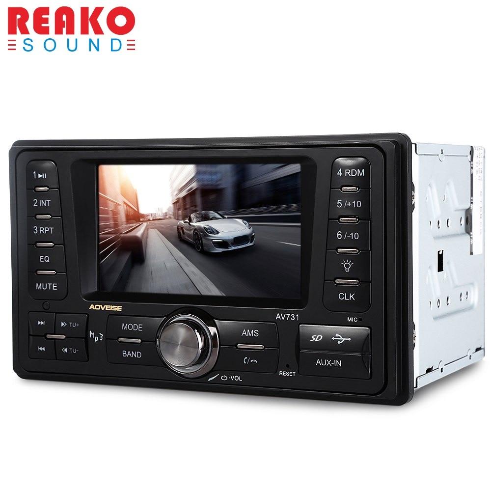 2 Din Car Radio Audio Stereo 2Din Car MP3 Player FM/MP3