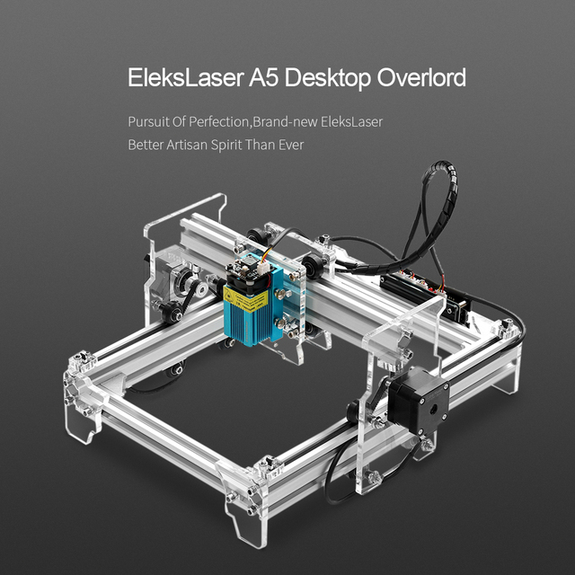 A5 Pro 2500mw cnc router laser cutter Desktop USB Laser Engraving Machine Engraver Carver DIY Laser Printer + Protective Glasses