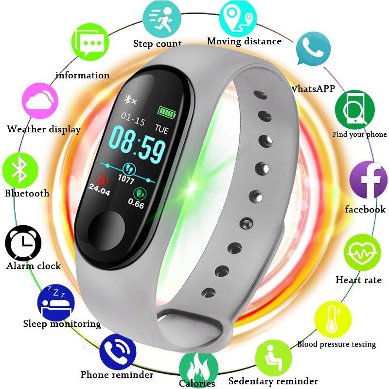 BANGWEI Nouvelle Montre Smart Watch Hommes Femmes Fitness Tracker Fréquence Cardiaque Moniteur de Pression Artérielle Smartwatch Sport Montre pour ios android + BOÎTE