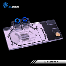 BYKSKI Full Cover Graphics Card Water Cooling GPU Block use for GIGABYTE GV-N980TIG1-GAMING-6GD5/GV-N980TI WF3OC-6GD5 N-GV98TI-X