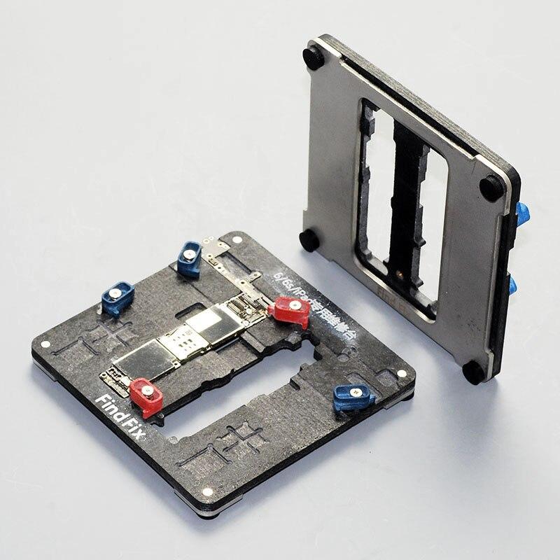 Multi-but station de maintenance Luminaire épaissir pour iphone 5s SE 6 6 s plus Pour ipad Carte Mère réparation d'appareils plate-forme de moule