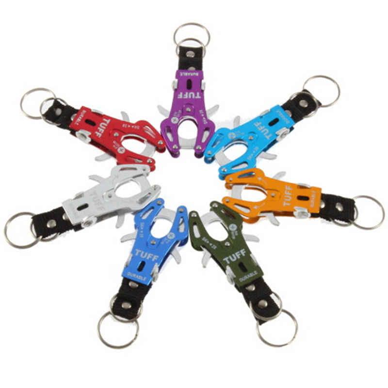 1Pc אופנה עדין לטפס וו Carabiner קליפ נעילת Keyring Keychain מפתח עמיד צבעים טבעת שרשרת