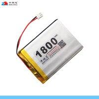 In 1800 mAh 415068 3.7 V lithium-polymeer batterij 405070 flash schoen GPS mobiele telefoon lezen machine Oplaadbare Ion Cell