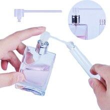 5 adet/grup plastik parfüm dağıtıcı araçları şırınga dolum pompası huni kozmetik aracı doldurulabilir şişe örnek parfüm şişesi