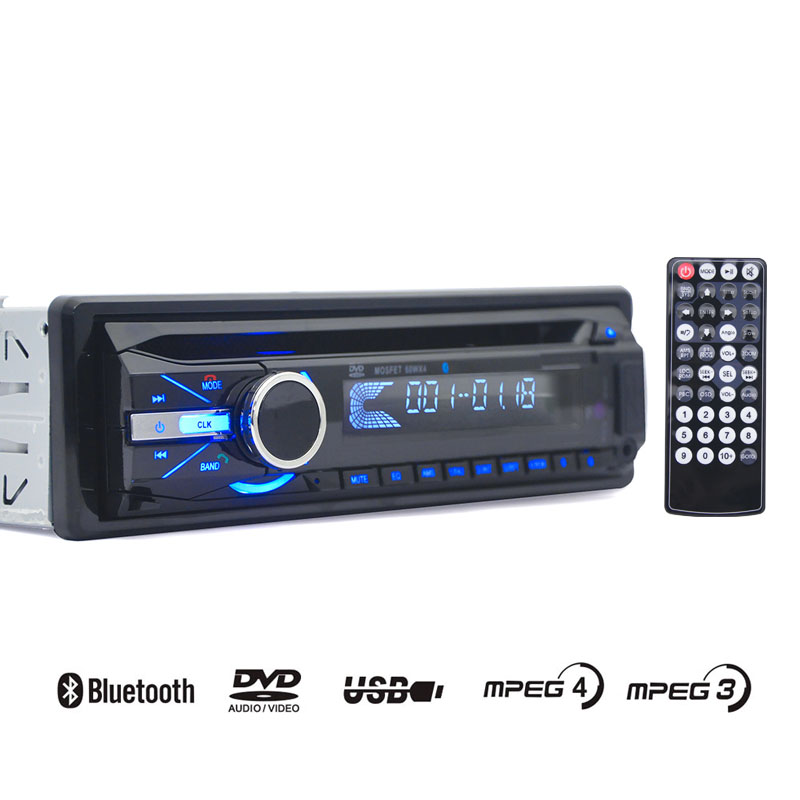 1din Retracble Flip down car Bluetooth hands free car USB SD radio DVD CD disc MP3 player car charger stereo 4X60W output power automotive supplies bluetooth hands free system music player car charger f launch vehicle p3
