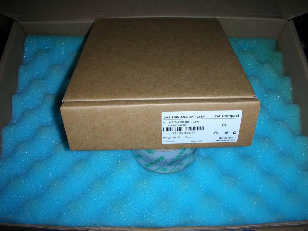 1PC USED Modicon TSX Compact AS-BDAP-216N 1pc used fatek pm fbs 14mc plc