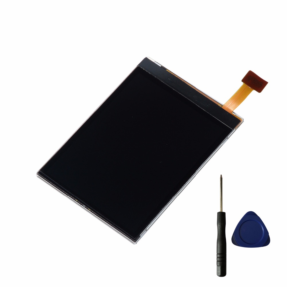Black LCD Display Screen Replacement For <font><b>Nokia</b></font> N75 <font><b>N76</b></font> N81 N818g N93i LCD image