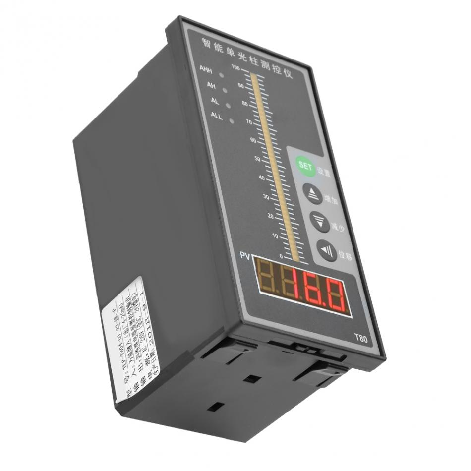 Дисплей уровня жидкости для воды Умный интеллектуальный светильник уровня давления дисплей колонны 4-20мА передатчик уровня Лидер продаж