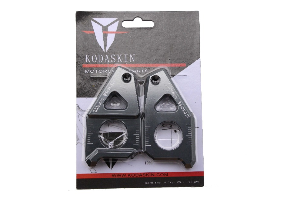 KODASKIN Motorcycle CNC Aluminum Chain Adjusters Tensioners For T Max TMax 530 TMax500 in Sprockets from Automobiles Motorcycles