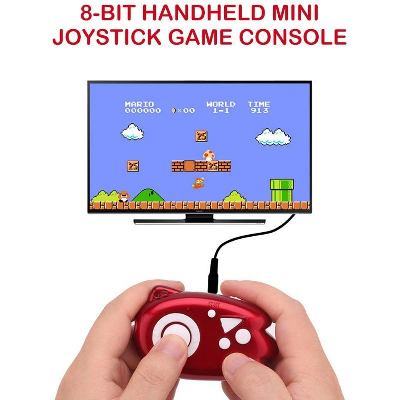 8 Bit Mini Video Game Console Players Build In 89 Classic Games Support Tv Output Plug & Play Game Player Best Gift