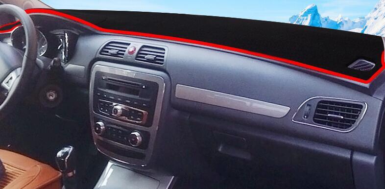 Voiture tableau de bord éviter pad lumière Instrument plate-forme bureau couverture tapis Auto accessoires pour JAC S4 2015 2016 2017 voiture-style