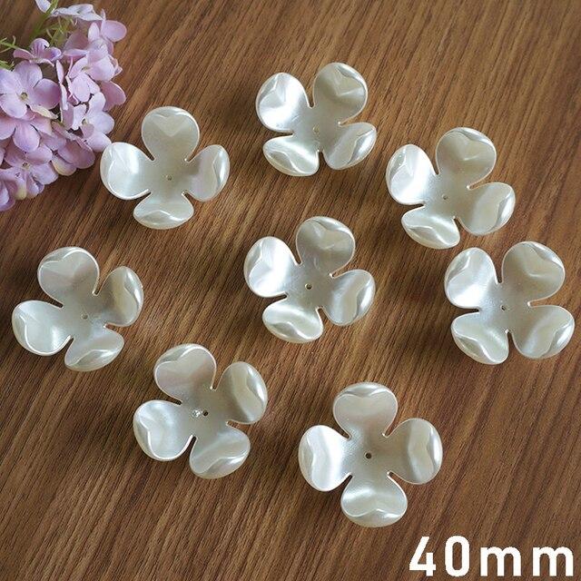 Купить бусины из абс пластика с искусственным жемчугом бусины ручной