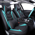 Nieuwe Luxe lederen Universele auto seat cover voor hyundai Elantra solaris tucson Zhiguli veloster getz creta i20 i30 ix35 i40 auto
