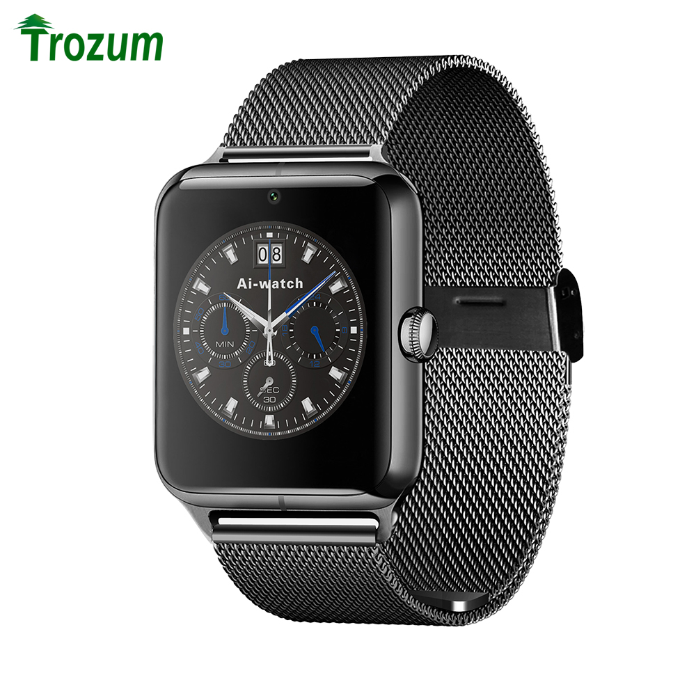 TROZUM Z50 Smart Watch Phone Bluetooth3 0 Connected with camera Support SIM Card TF Card LF11