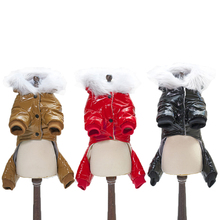 New Waterproof Snowproof Style Cotton Pet Dog Winter Coat Three Color Selection From S to XXL New Dogs Thickness Warm Clothing