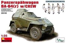 Out of print product MiniArt 1 35 WWII BA 64 r German Armoured Car w Crew