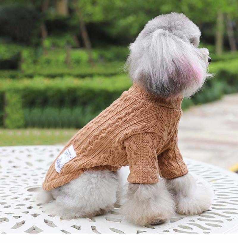Hund Pullover Winter Haustier Kleidung Dackel Kleidung Pullover Warme kleine Hunde Katze Pullover Mantel Haustiere Hunde Kost/üm