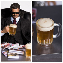 New 1/6 Scale Soldier Model Sence Accessories Beer Beer Bubble Foam Movable for 12in Action Figures