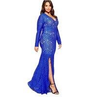 2016 Phụ Nữ Thanh Lịch Casual Lace Dress Tím Đen Trắng Cộng Với kích thước 3XL 4XL 5XL 6XL 7XL 8XL Summer Maxi Dài ăn mặc
