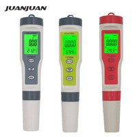 Portable Pen Digital PH TDS EC Meter Temperature tester Filter Measuring pool aquarium Water High Quality Purity Tester 20%off