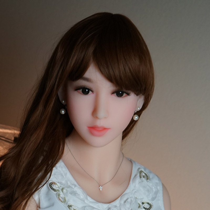 NEW! Top quaity real sex dolls head for 161-165cm sex dolls with wig oral real sex toy for men