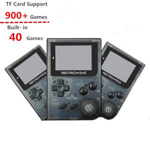 Retromini 32 Bit Handheld Game Player TF card Built-in 900+ Classic Games Retro Mini Game Console Best Gifts for kids