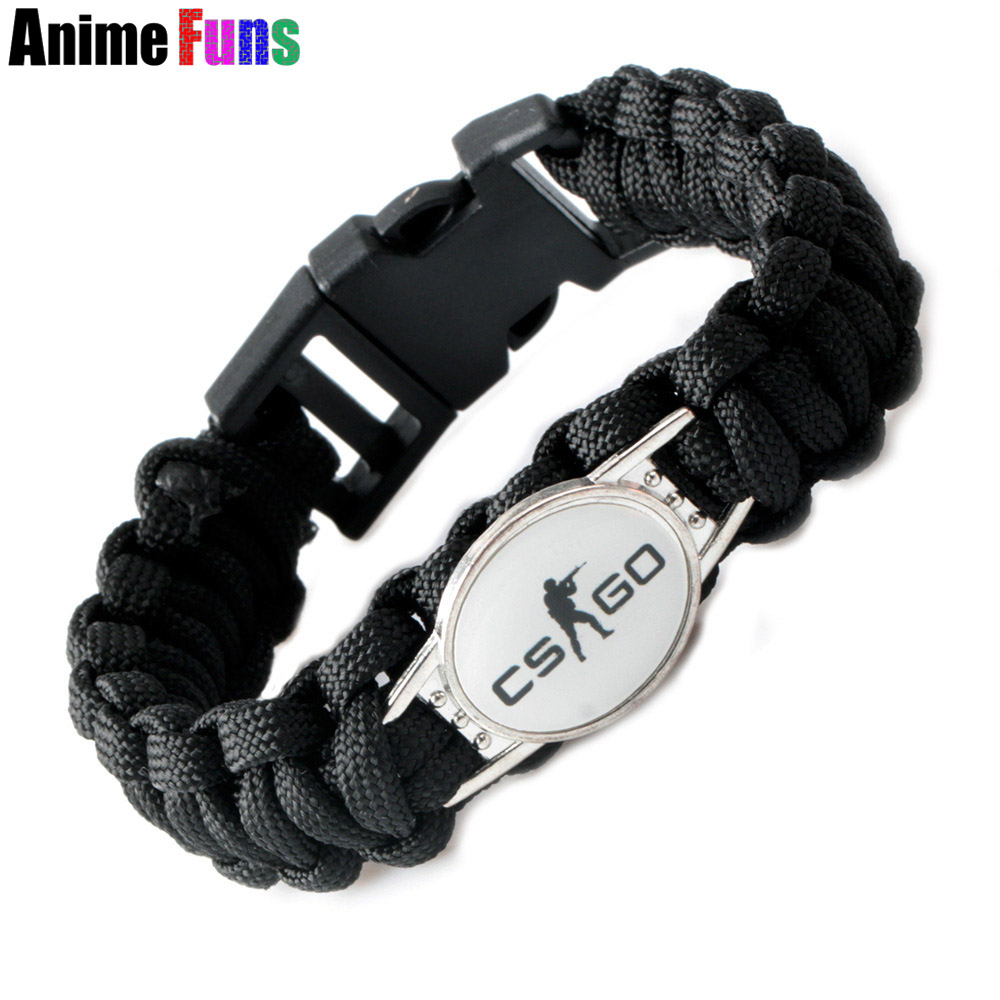 Anime Game csgo Counter Strike Global Offensive Silicone Bracelet