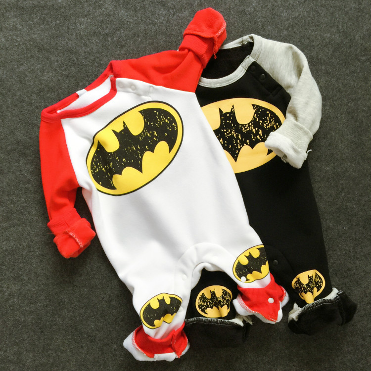 Warn Autumn Winter Baby Rompers Baby Boy Costume Newborn Infant Girl Clothing Baby Winter Rompers 2016