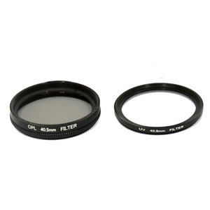 Image 5 - SJCAM Accessories 40.5mm CPL Filter + UV + 40.5mm Lens Cap + Adapter Ring for SJ8 Pro Air Plus Action Camera Lens Protector