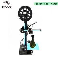 2018 Ender 2 Mini 3D printer DIY KIT RepRap Prusa i3 150*150*200mm printer 3d Full Metal 5M filaments+HotBed+8GSD card +tools