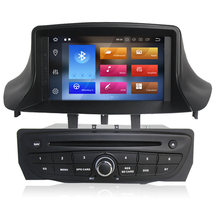 "COIKA 7"" Android 8.0 System Car Radio Head Unit For Renault Megane With 4+32G RAM GPS DVD Multimedia RDS BT WIFI 4G OBD DVR SWC(China)"