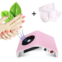 Nail Dust Collector Set With 10pcs Replacement Collection Bags Manicure Vacuum Cleaner Vacuum Dust Collector Manicure Bag