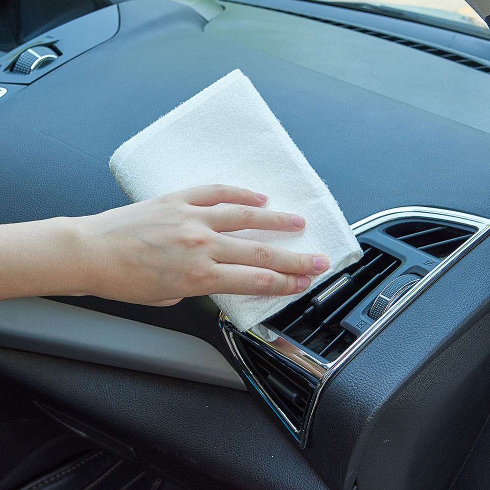 Car Cleaning Cloth Superfine Fiber Polish Cloths Automobile Care Towel 1 Pcs