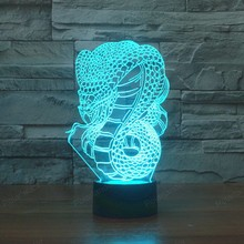 7 colors changing  3d Touch USB Creative LED Night Lights Colorful Atmosphere Acrylic Novelty light
